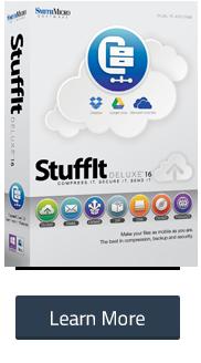 StuffIt Deluxe Mac 16